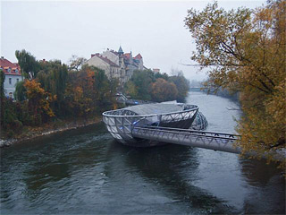 Murinsel in Graz