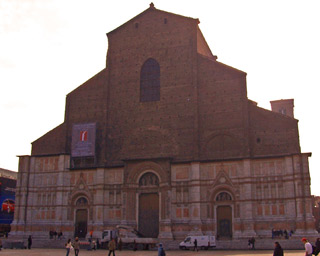 Basilica of San Petronio in Bologna