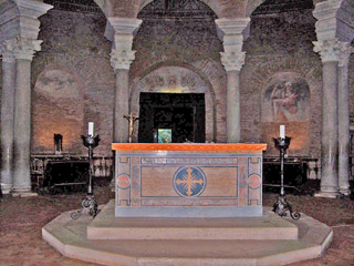 Center Altar in the Mausoleum de Costanze - Rome