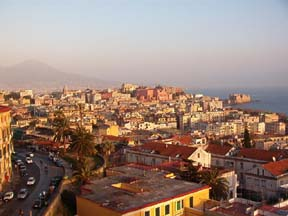 Overlooking Napoli and the Bay