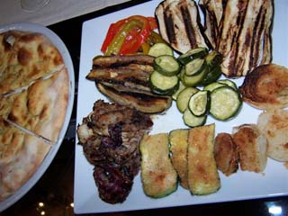 Roma - Perilli in Prati - grilled vegetables