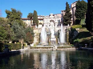 Tivoli - Fountains of the Villa d'Este
