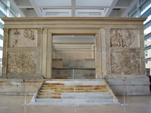 Museo dell' Ara Pacis, Rome, Italy.