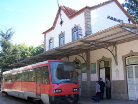 Train Station - Amarante, Portugal