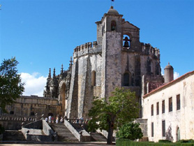 Castle and Convento Cristo - Tomar, Portugal