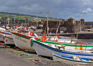 Vila Franca do Campo fishing port